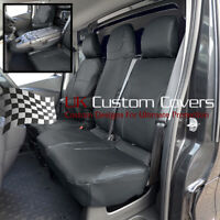 RENAULT TRAFIC SPORT BUSINESS+ 2021 ON LEATHERETTE FRONT SEAT COVERS 178