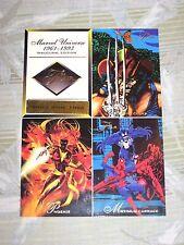 1994 FLAIR MARVEL ANNUAL UNCUT PROMO CARD SHEET CARNAGE VENOM! WOLVERINE!
