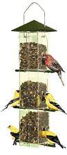 Perky-Pet 110 Evenseed Silo Wild Bird Feeder , New, Free Shipping