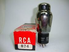 1 X 874 RCA TUBE. NOS/NIB.VOLTAGE REGULATOR. CRYOTREATED