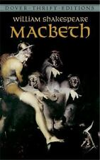 Dover Thrift Editions: The Tragedy of Macbeth by William Shakespeare (1993,...