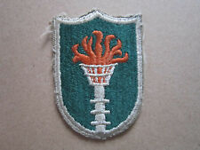 Korean Communications Zone KCOMZ US Army Woven Cloth Patch Badge