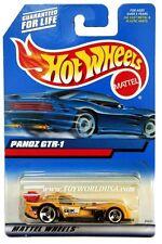 2000 Hot Wheels #187 Panoz GTR-1 yellow