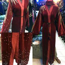 Nuovo Design Velluto Abaya / Islamica Wear / Saudita Donna Abito Taglia 54.56.58