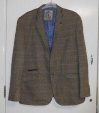 Mens Cavani Albert Brown Suit Jacket 50 Regular CS076 PP 10