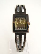 NEW A II Z by TIMEX BROWN MOP DIAL+BROWN IP BRACELET BAND WOMENS WATCH-V0V715