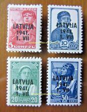 EBS 1941 German occupation Latvia - Latvija - Lettland - Michel 1//5 MNH**