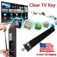 Clear TV Key HDTV FREE TV Digital Indoor Antenna Ditch Cable As Seen on TV TOP