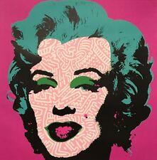 Marilyn Monroe print by Raw- Ltd Ed Street Art like Brainwash Obey Warhol Banksy