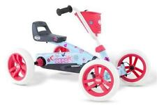 New Berg Toys Buzzy Bloom Go Kart - Age 2-5yrs - Kids Blue Pink Pedal Go Kart
