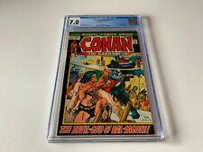 CONAN THE BARBARIAN 17 CGC 7.0 GODS OF BAL-SAGOTH MARVEL COMICS 1972