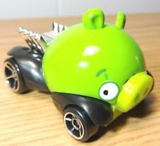 HOT WHEELS 2012 ANGRY BIRDS Edition GREEN MINION PIG Mattel Rovio Collectible