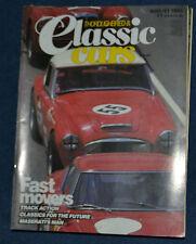 Thoroughbred & Classic Cars August 1985 1936 Packard V12, 1961 Porsche RSK, Elva