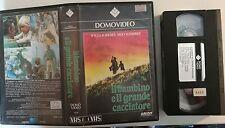 VHS - IL BAMBINO E IL GRANDE CACCIATORE di Peter Collinson [DOMOVIDEO]