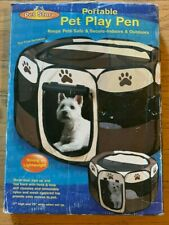 NEW Pet Store JSNY Portable Pet Dog Play Pen Small Size #4569 Secure Safe NIB