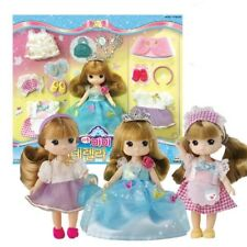 [Little MIMI] Cinderella Fashion Stylist Set Korean Barbie Doll