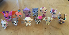 12 Littlest Pet Shop Figures Lot