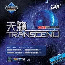 729 Friendship TRANSCEND Rubber Pips-In with Sponge [Red][Black] **US Seller