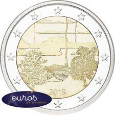 2 euros commémorative FINLANDE 2018 - Culture du Sauna Finlandais - Qualité UNC