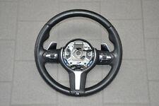 BMW F30 F31 F20 F32 Lenkrad M Sportlenkrad Schaltwippen schwarz steering wheel