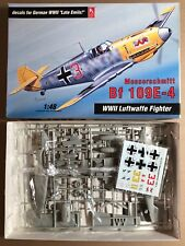 HOBBY CRAFT HC1570 - MESSERSCHMITT Bf 109E-4 - 1/48 PLASTIC KIT NUOVO