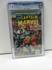 Captain Marvel #33 CGC Universal Grade  7.5