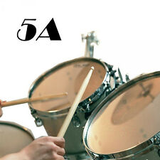 New Wood Drumsticks Music Band Maple Tip Wooden Drum Sticks 1 Pair 5A