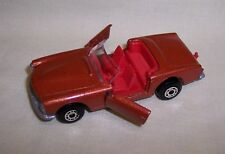 """Matchbox"" Superfast Sf-27 Mercedes 230 Sl Burnt Orange Made In Hungary Mint"