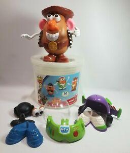 Mr. Potato Head Disney Pixar Toy Story 3 Buzz Lightyear Woody 20 pc Set
