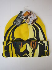 Star Wars Mens' C3PO Roll Down Mask Winter Beanie Hat BRAND NEW WITH TAGS