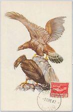 52148 - ANDORRA -  MAXIMUM CARD - 1947  ANIMALS:  Birds