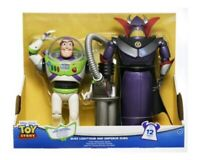 Disney Pixar Toy Story Buzz Lightyear Emperor Zurg Talking Action Figures NIB