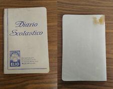 LA294_DIARIO SCOLASTICO_ELIO_1962_ECAP_CASA EDITRICE_S.A.S.TORINO