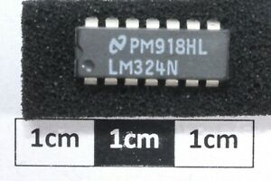 Nat Semi LM324N Low power quad operational amplifier (Pk of 5)