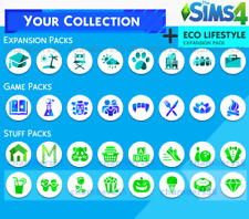 💎 SALE! The Sims 4 ALL Expansions + ALL game/stuff packs + Eco Lifestyle