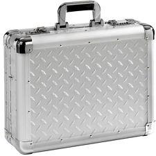Aktenkoffer Koffer Notebookkoffer Aluminiumkoffer Aluminium Silber Alu 17 Zoll