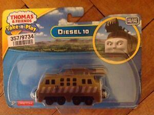 Thomas and Friends Take n Play Diesel 10 Die Cast Engine