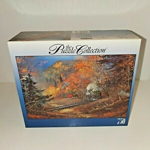Roseart The Puzzle Collection Train # 10 750 Piece Puzzle 97325B - New