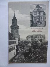 Ansichtskarte Idstein Taunus um 1900 Altes Haus a.d. Obergasse Schloß Hexenturm