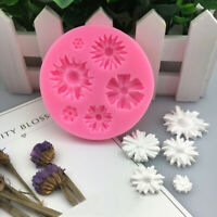 3D Flower Silicone Mold Fondant Cake Decor Chocolate Sugarcraft Mould DIY Craft