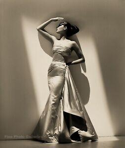 1995 HERB RITTS Valentino Fashion Super Model CHRISTY TURLINGTON Photo Art 12x16