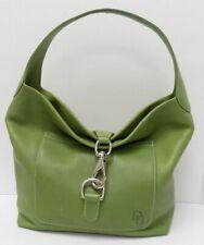 Dooney & Bourke Shoulder Bag Green Leather