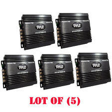 Lot of (5) Pyle PSWNV720 24-12V DC Power Step Down Converter 720W PMW Technology
