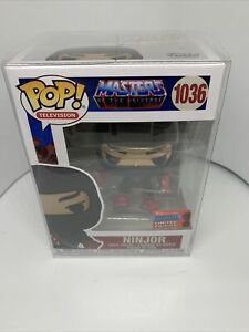 Pop Vinyl masters of the universe Ninjor Nycc 20 Exclusive