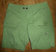 Life is Good Women's Green Karma Shorts, 5 Pockets, 2