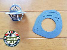 Jeep Wrangler YJ & TJ Thermostat & Gasket 2.5 & 4.0