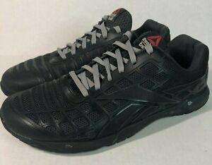 Men's Reebok Crossfit CF7 Nano 3.0 Black Sneakers US 9.5 UK 8.5 EUR 42.5