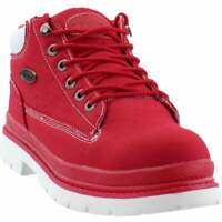 Lugz Drifter Ripstop Chukka  Mens  Boots   Ankle  - Red