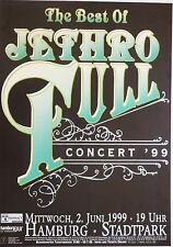 "JETHRO TULL ""THE BEST OF TULL 1999"" GERMAN CONCERT TOUR POSTER - Ian Anderson"