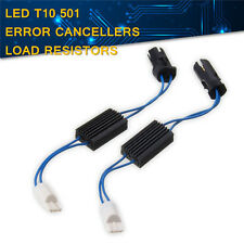 2x T10 501 W5W LED OBC Canbus Ampoule Résistance Décodeur Câble Anti Sans Erreur